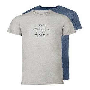 Bilde av T-shirt Ordbok - Far