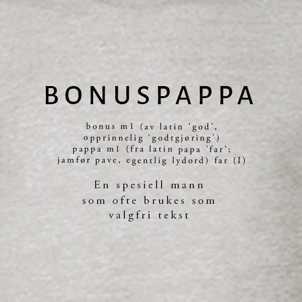 T-shirt Ordbok - Bonuspappa