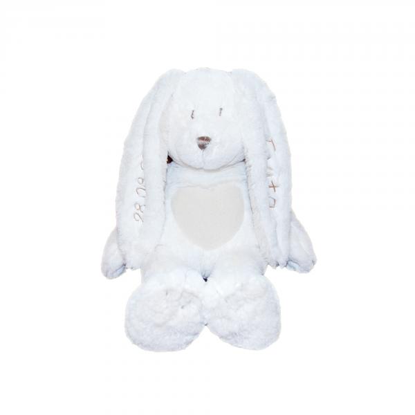 Teddykompaniet Cream Kanin Liten hvit