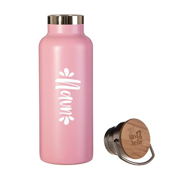 Stålflaske - Hot pink