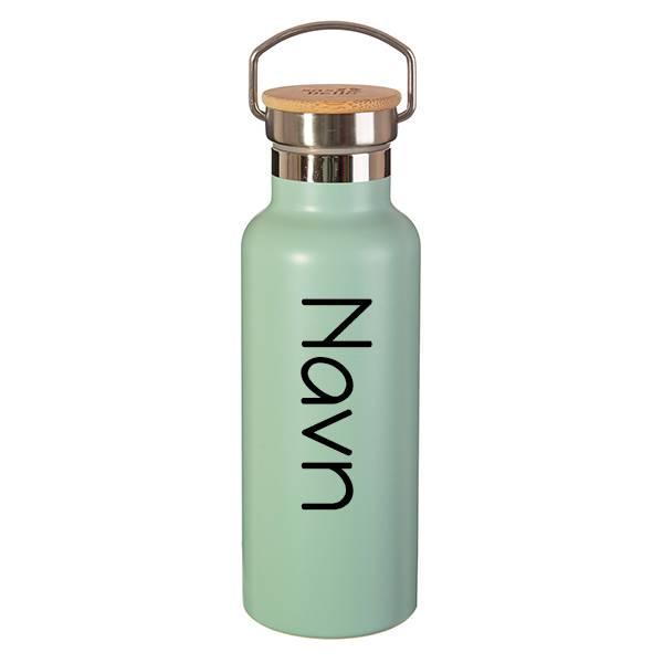 Stålflaske - Mint green