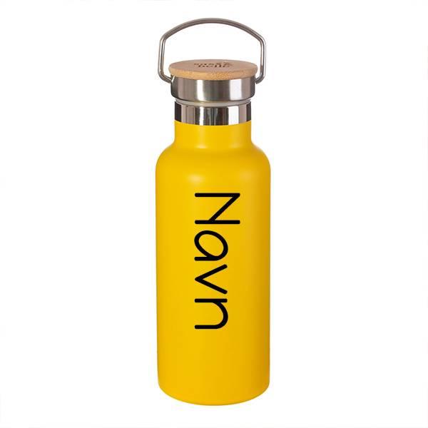 Stålflaske - Hot yellow